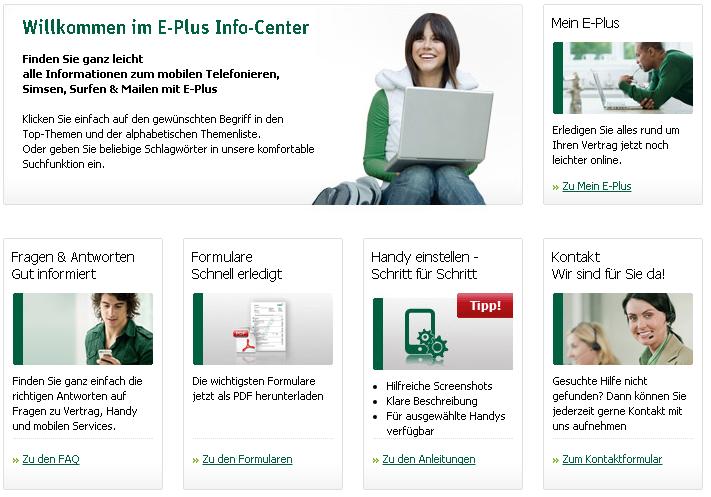 Eplus Kundenservice Hotline